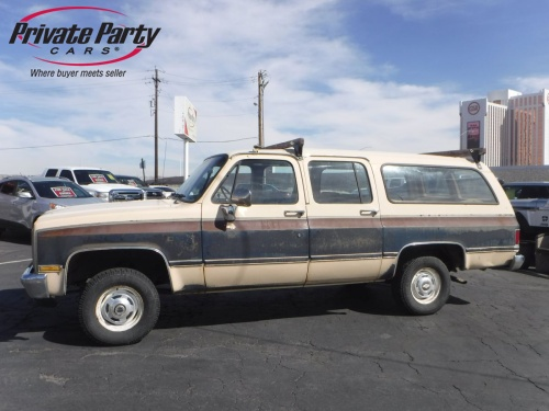 1988 chevrolet suburban 1500 sport for sale by owner at private party cars where buyer meets. Black Bedroom Furniture Sets. Home Design Ideas