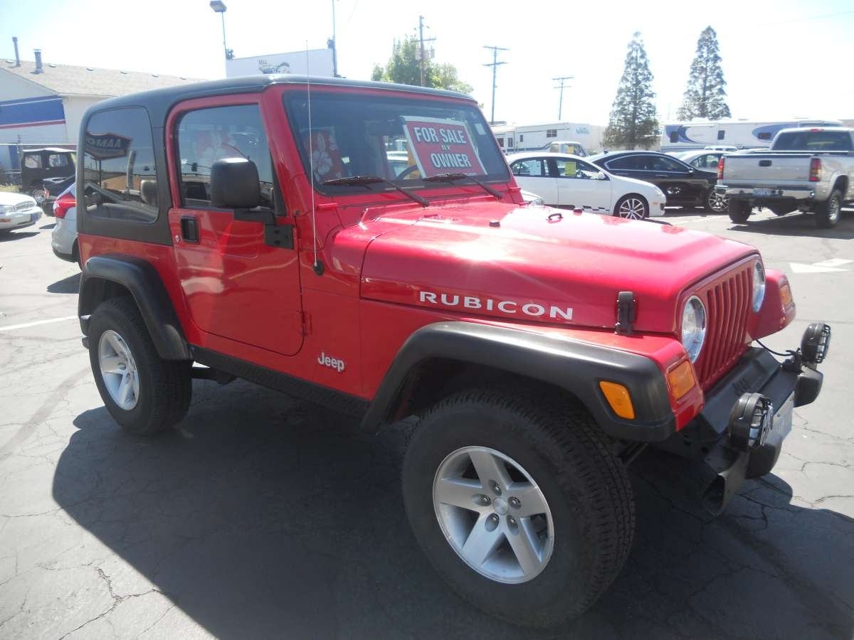 2003 jeep wrangler rubicon for sale by owner at private. Black Bedroom Furniture Sets. Home Design Ideas