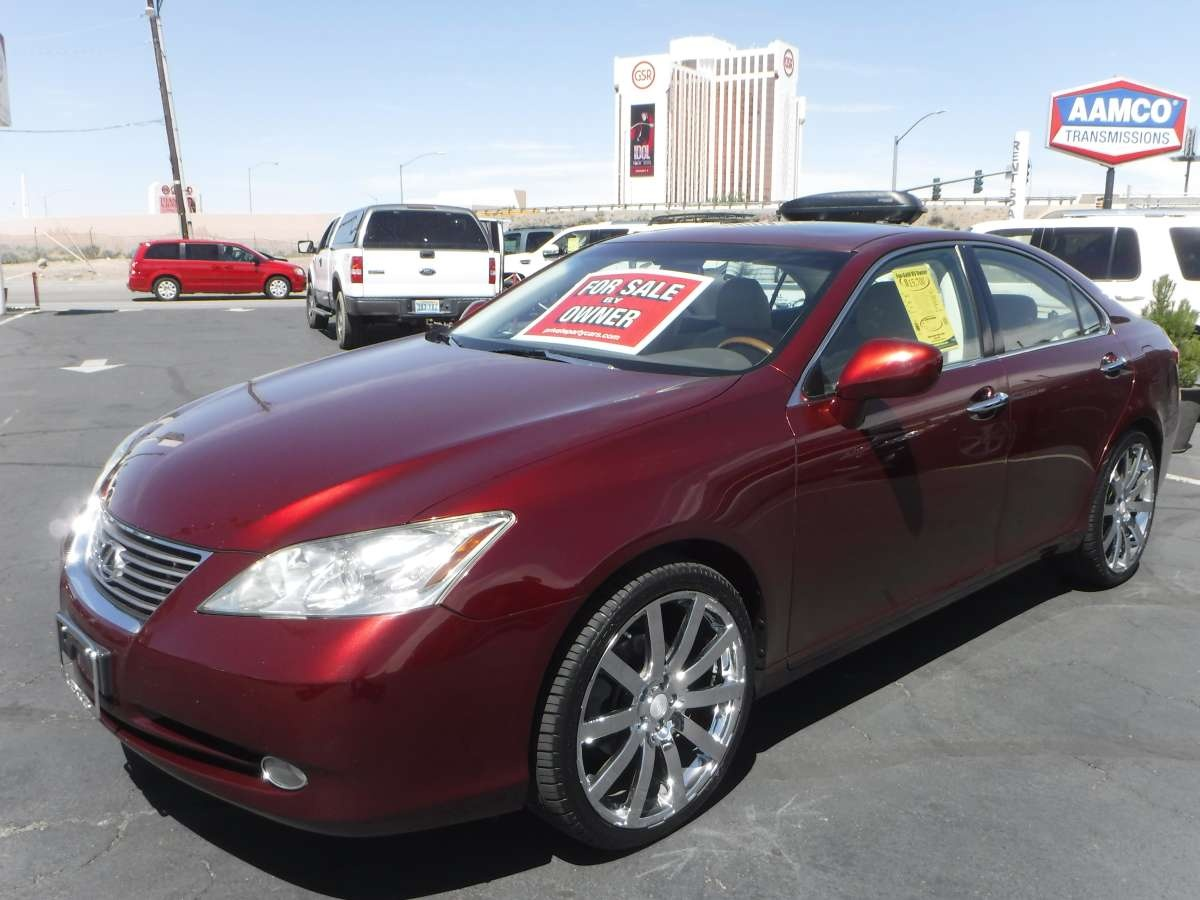 2007 lexus es es 350 for sale by owner at private party cars where buyer meets seller. Black Bedroom Furniture Sets. Home Design Ideas