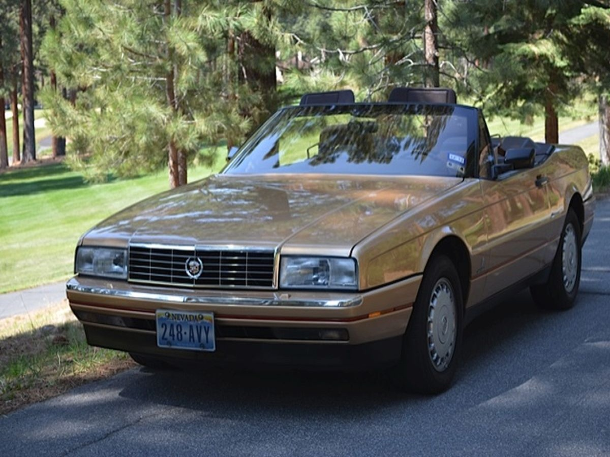1987 cadillac allante convertible for sale by owner at private party cars where buyer meets. Black Bedroom Furniture Sets. Home Design Ideas