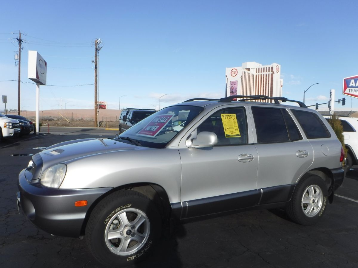 2004 hyundai santa fe gls for sale by owner at private party cars where buyer meets seller. Black Bedroom Furniture Sets. Home Design Ideas