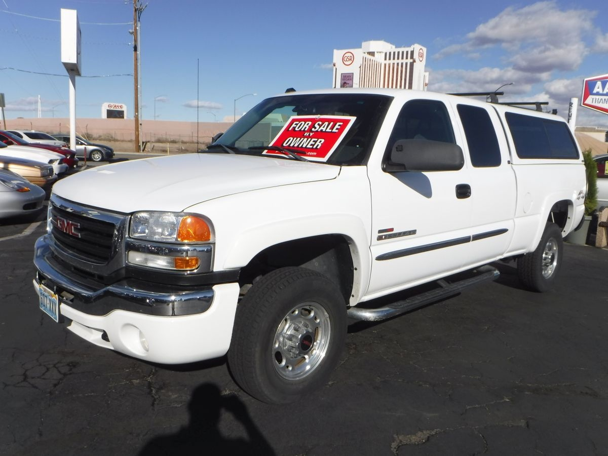 2004 gmc sierra 2500 hd extended cab sle 6 1 2 ft for sale by owner at private party cars. Black Bedroom Furniture Sets. Home Design Ideas