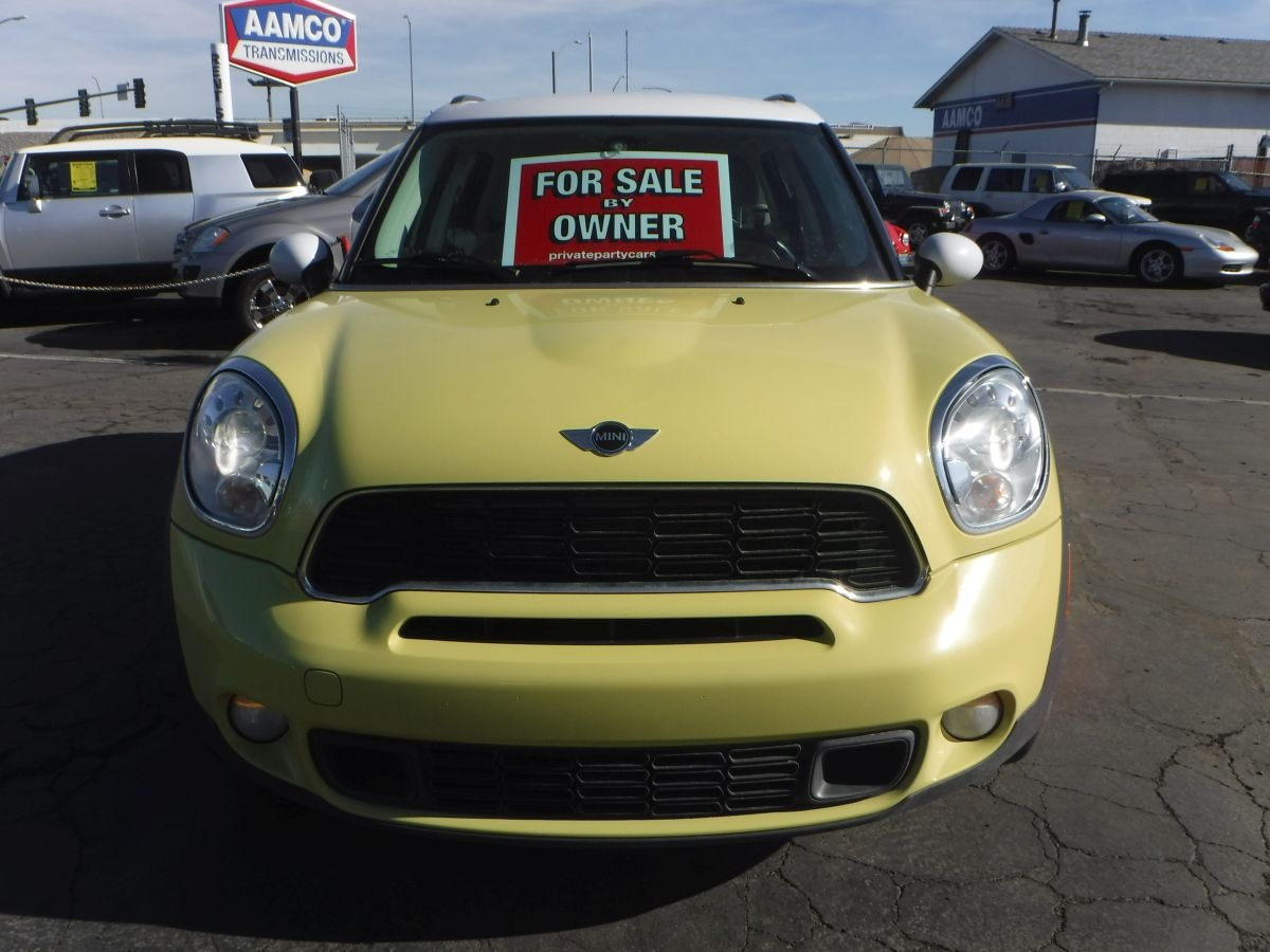 2011 mini countryman cooper s all4 for sale by owner at private party cars where buyer meets. Black Bedroom Furniture Sets. Home Design Ideas