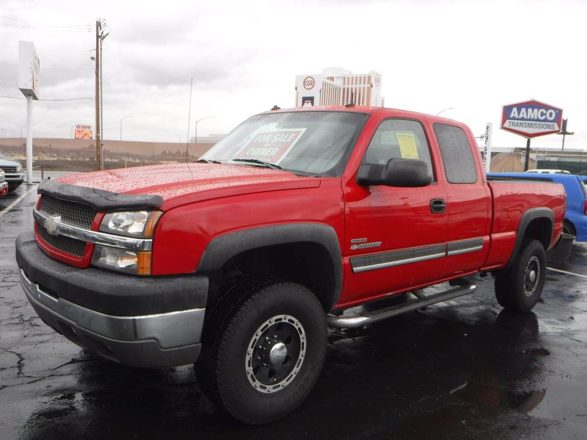 2003 chevrolet silverado 2500 hd extended cab lt 6 1 2 for sale by owner at private party cars. Black Bedroom Furniture Sets. Home Design Ideas