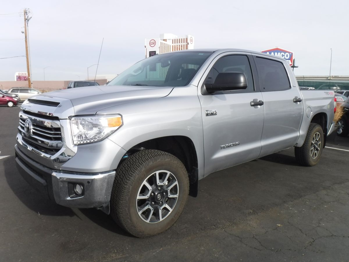 2017 Toyota Tundra Crewmax Trd Pro 5 1 2 Ft For Sale By Owner At
