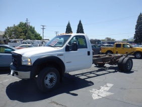 2007 Ford F550 Super Duty Regular Cab & Chassis 141in W.B. 2 - For Sale By Owner at Private Party Cars