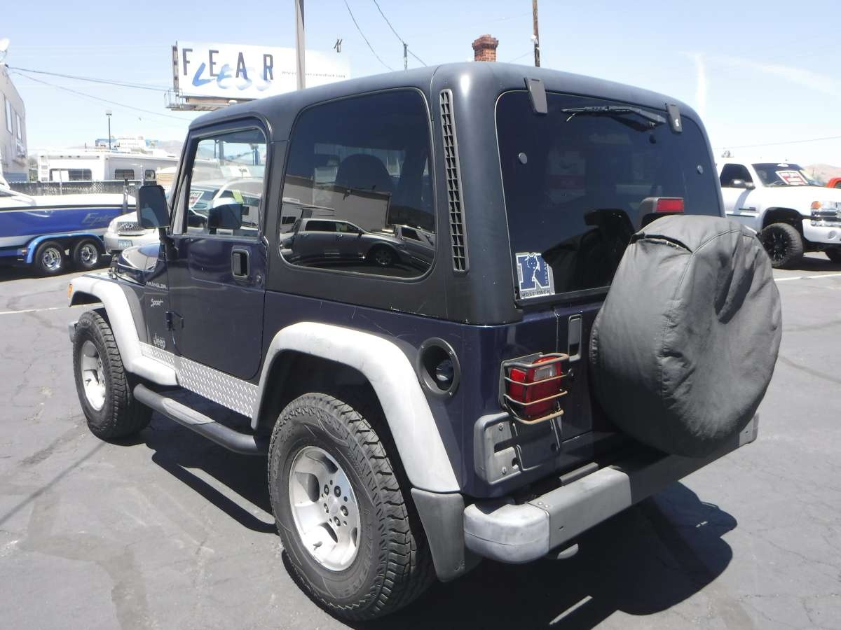 2002 Jeep Wrangler - For Sale By Owner at Private Party ...